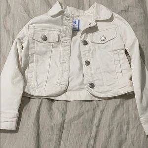 White jean jacket from Gymboree size 5-6
